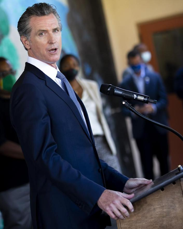 Gavin Newsom, who won the 2018 election with a greater share of the vote than any other Democrat in state history, remains largely popular in California.