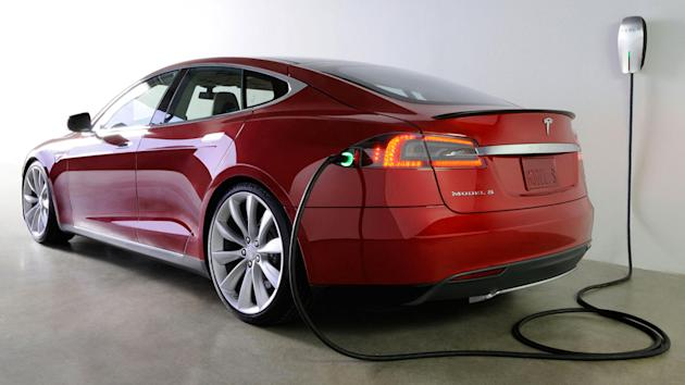 Beginning this year, it will drive itself. The Tesla Model S.