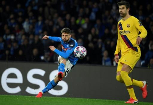 Barcelona's last 16 second leg match against Napoli becomes the third Champions League match to be ordered behind closed doors