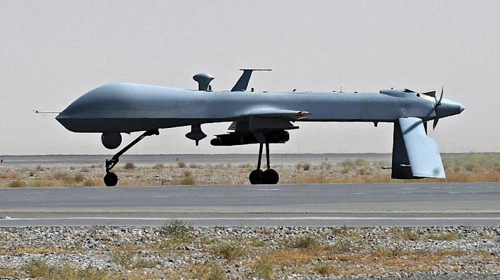 US drone attacks are deeply unpopular in Afghanistan and Pakistan but the Pentagon considers them an important weapon in the fight against Islamic militants (AFP Photo/Massoud Hossaini)