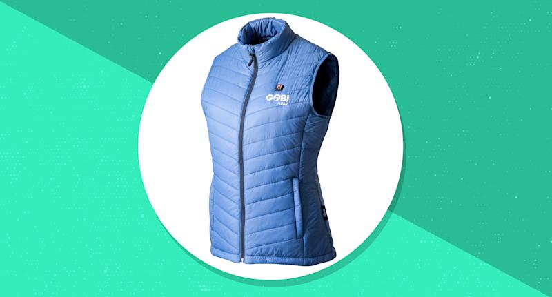 Stay comfortably warm in the coldest conditions with this genius high-tech vest. (Photo: Gobi Heat)
