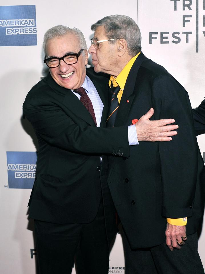 "NEW YORK, NY - APRIL 27: Director Martin Scorsese and comedian Jerry Lewis attend ""The King of Comedy"" Closing Night Screening Gala during the 2013 Tribeca Film Festival on April 27, 2013 in New York City.  (Photo by Stephen Lovekin/Getty Images for Tribeca Film Festival)"