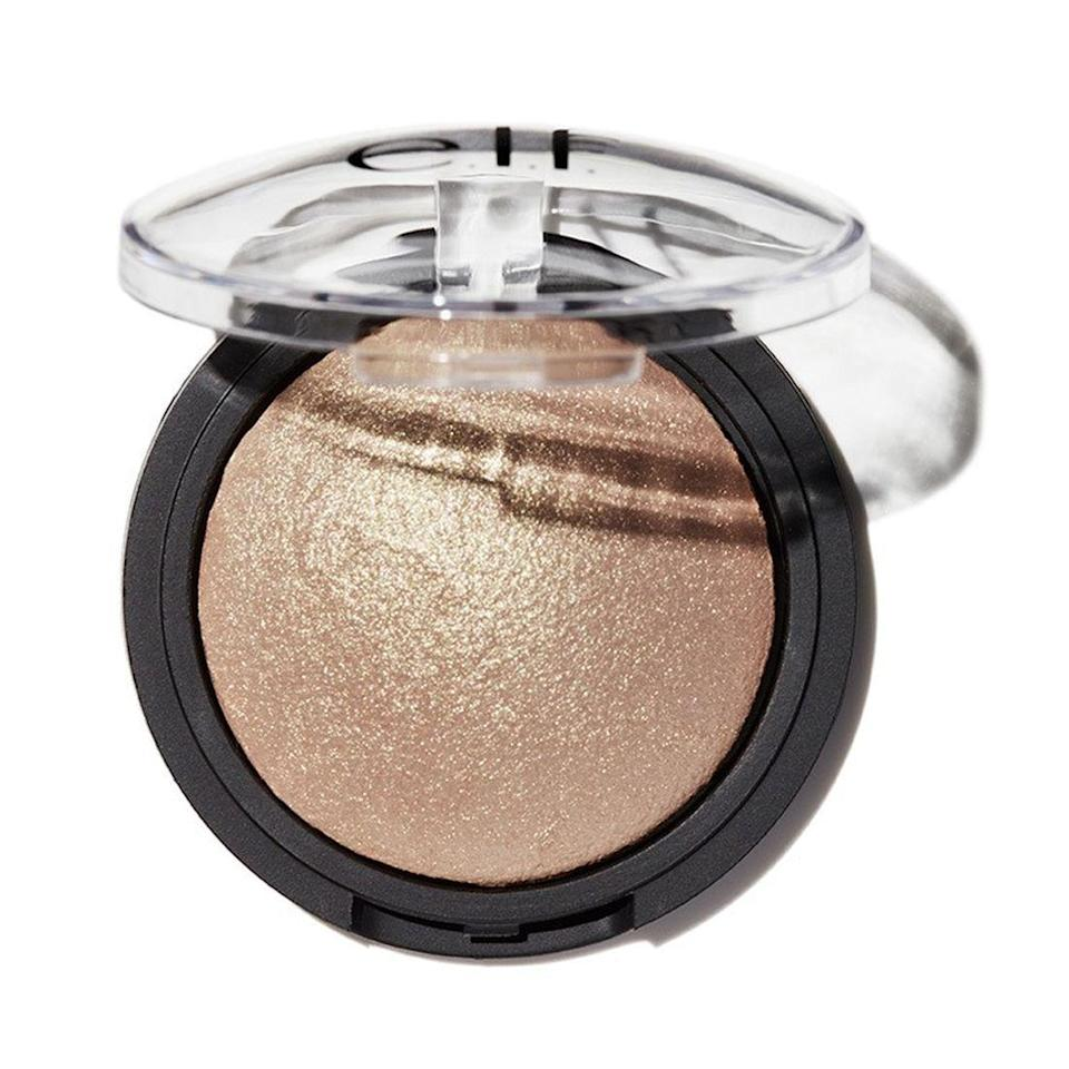"""<p>Let E.L.F. Cosmetics gift double your Black Friday haul. They're giving away a $25 pre-packaged holiday gifts (that include an eyeshadow palette, baked highlighter, and more) for any $25 and over purchase you make in stores from November 19 to the 26th.</p><p>And if you go shopping online 11/22-11/26, you'll get 50% off when you spend $30 — and with the brand's unbelievably affordable prices, that's <em>a lot</em> of loot.</p><br><br><strong>e.l.f</strong> Baked Highlighter, $4, available at <a href=""""https://www.elfcosmetics.com/baked-highlighter/83706.html#locklink"""" rel=""""nofollow noopener"""" target=""""_blank"""" data-ylk=""""slk:e.l.f"""" class=""""link rapid-noclick-resp"""">e.l.f</a>"""