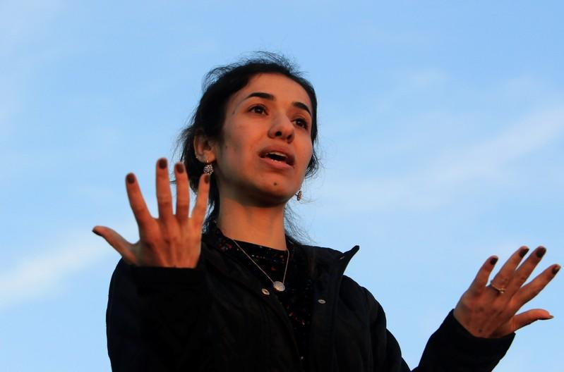 After Baghdadi death, Nobel laureate Nadia Murad asks: What about the rest?