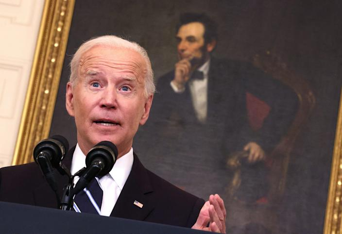 Biden is frustrated?  I'm frustrated.  The mark on COVID-19 is still missing.