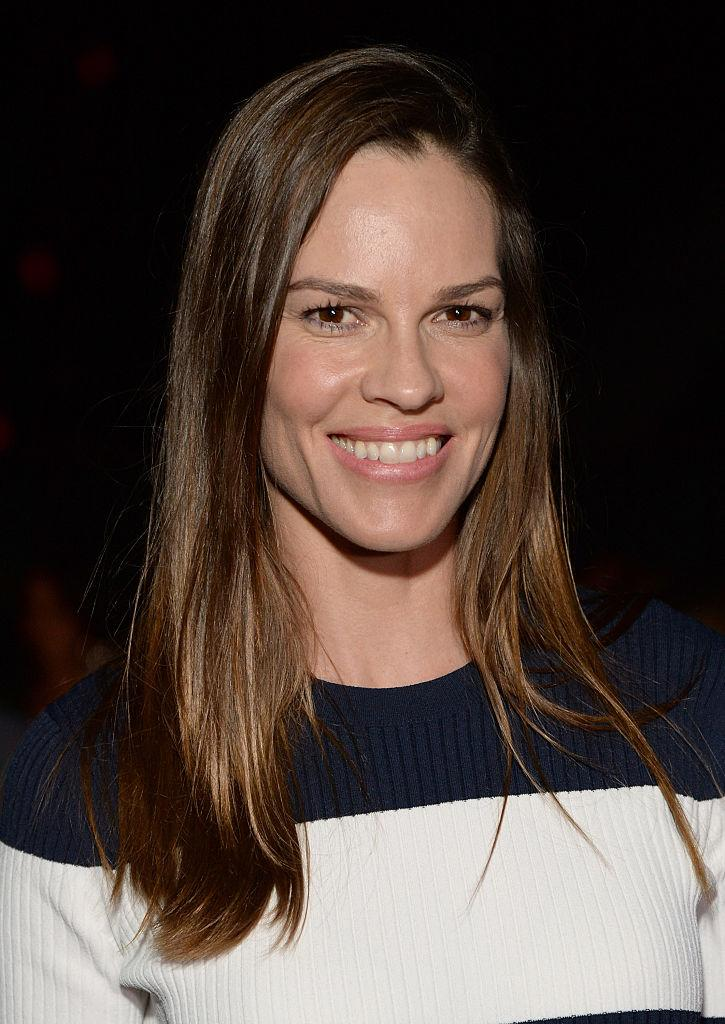 Hilary Swank Takes on a Triathlon