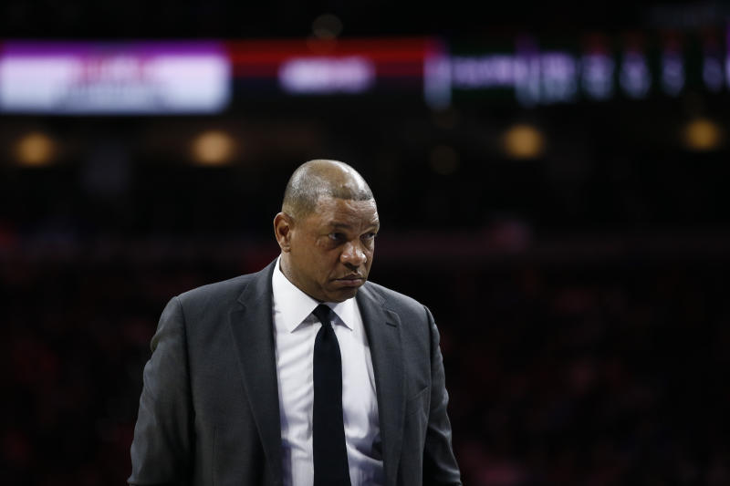 Los Angeles Clippers coach Doc Rivers