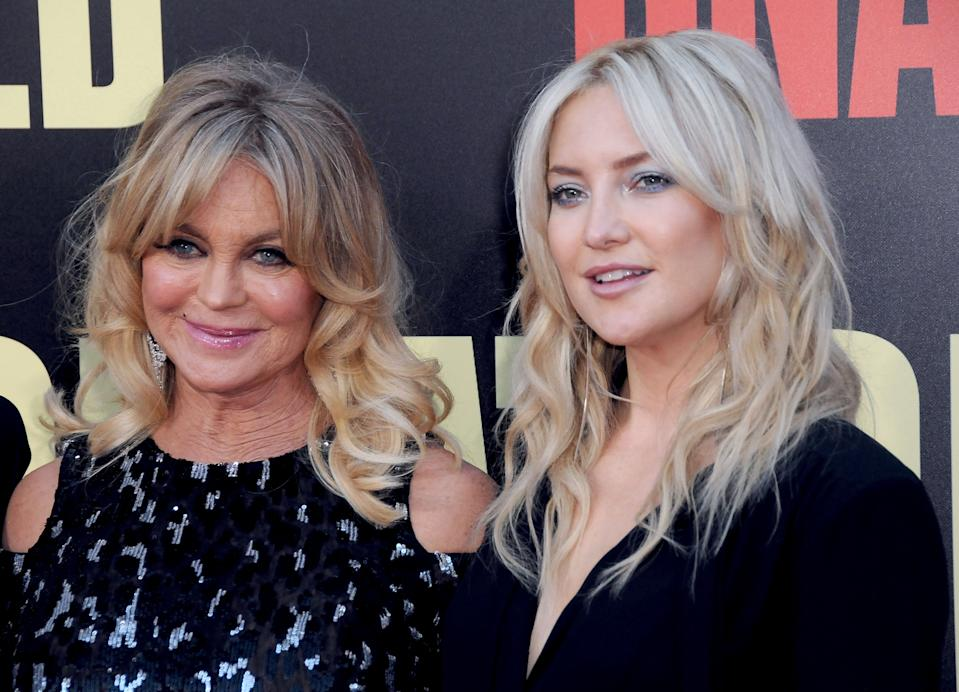 Kate Hudson celebrates mom Goldie Hawn's 75th birthday: 'I love you to infinity and beyond'