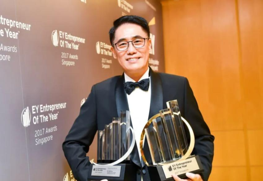 Dr Shi Xu, chief executive at Nanofilm Technologies International, was named EY Entrepreneur Of The Year 2017. (PHOTO: Nanofilm Technologies)