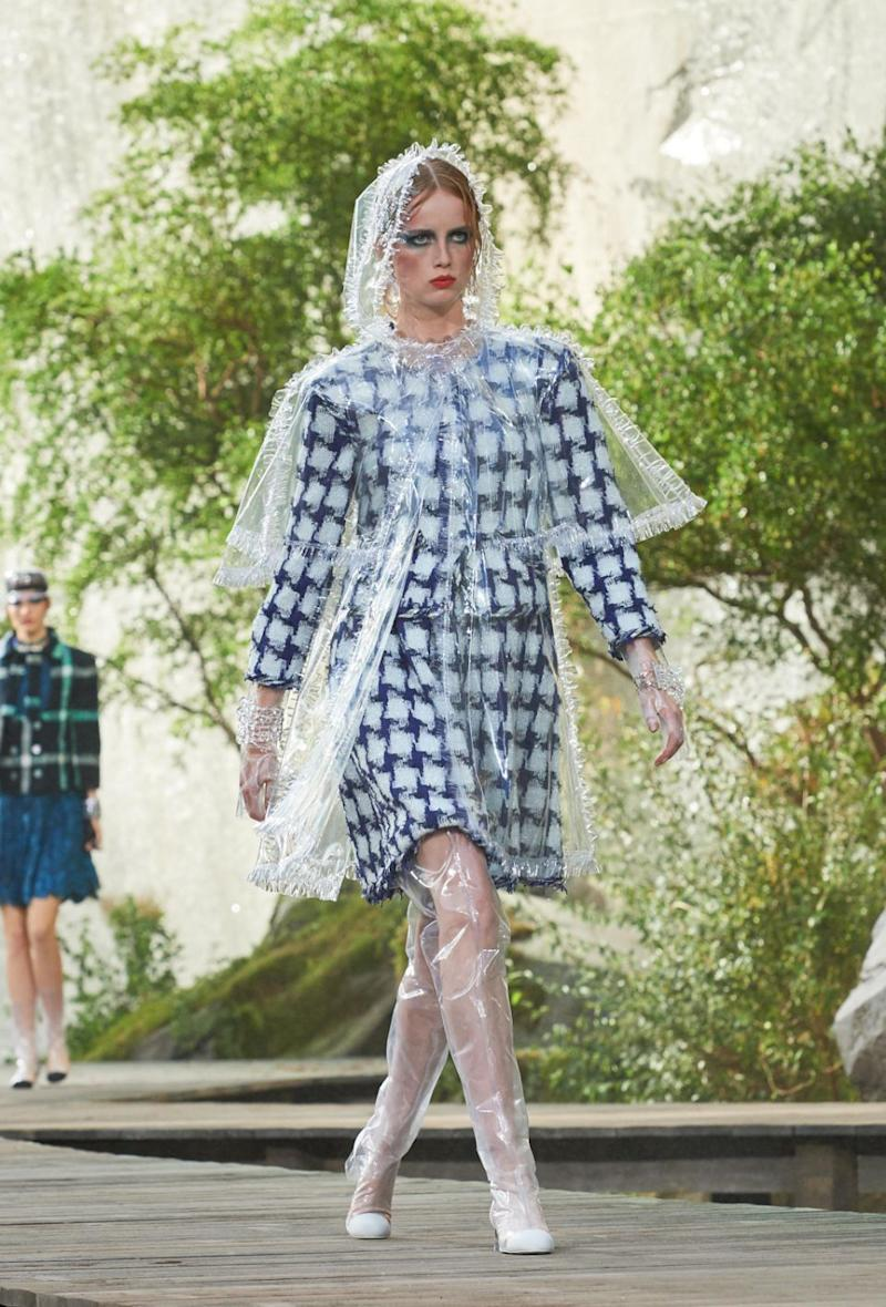 This is the rain mac of dreams. Photo: Chanel
