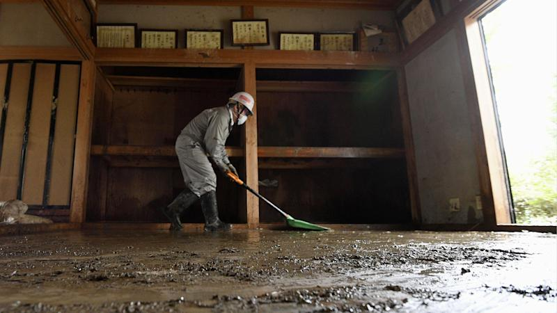 Storms heading for Japan a week after devastation of Typhoon Hagibis