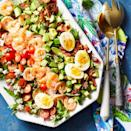 <p>We've replaced chicken with shrimp in this delicious and easy spin on the classic Cobb salad. This satisfying salad takes just 20 minutes to make, so it's perfect for weeknight dinners, but it's elegant enough to serve to guests.</p>