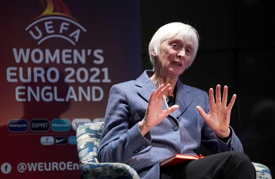 Baroness Sue Campbell, director of women's football, the FA during the Uefa Women's Euro 2021 (John Walton/PA) (PA Archive)