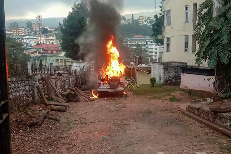 Curfew Reimposed, Internet Suspended as Meghalaya Turns Violent After CAA, ILP Meeting