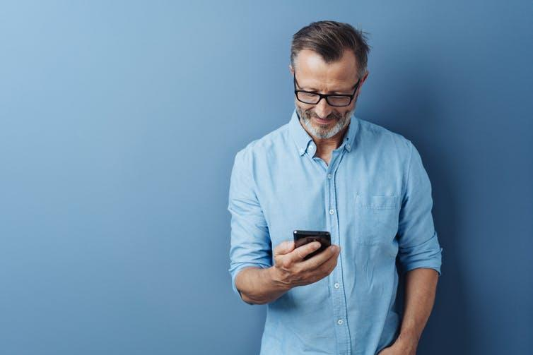 Twitter users are more likely to be middle-aged. Shutterstock