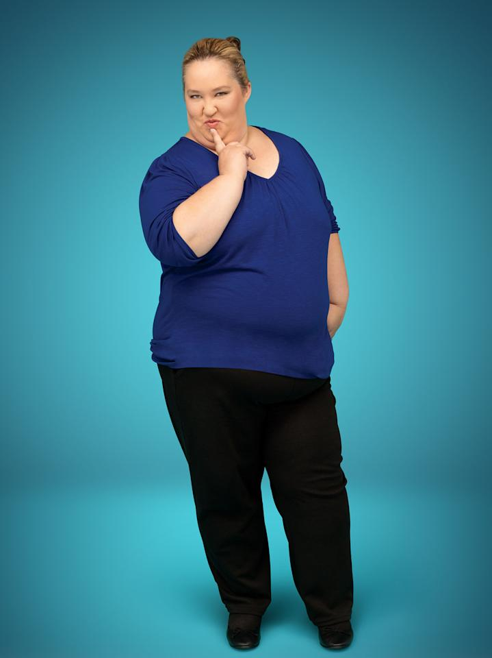 "Mama (June Shannon) in Season 2 of TLC's ""Here Comes Honey Boo Boo."""
