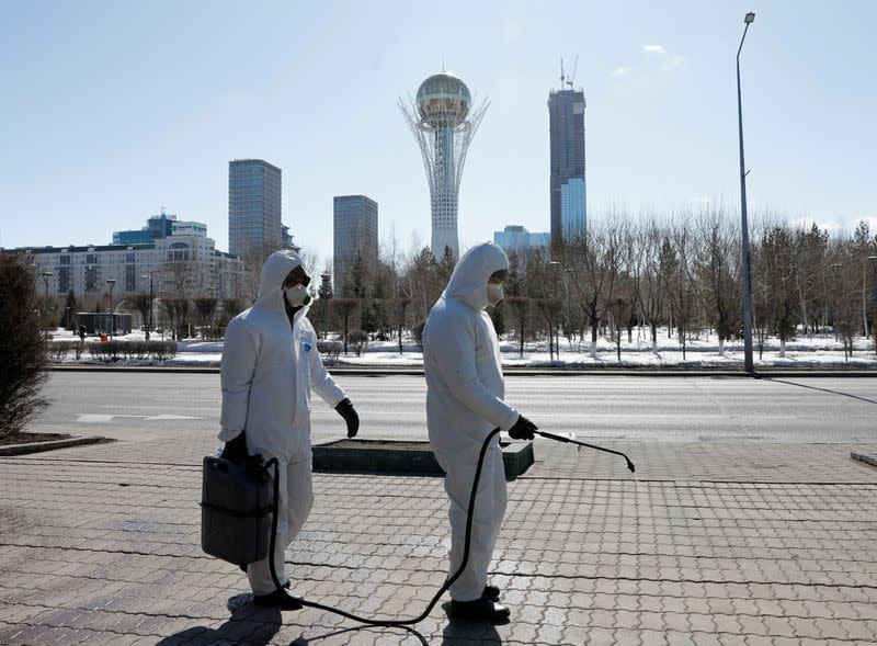 Kazakhstan to shut down most businesses in major cities for a week