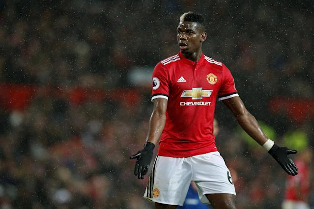 Paul Pogba ran the show for Manchester United against Stoke