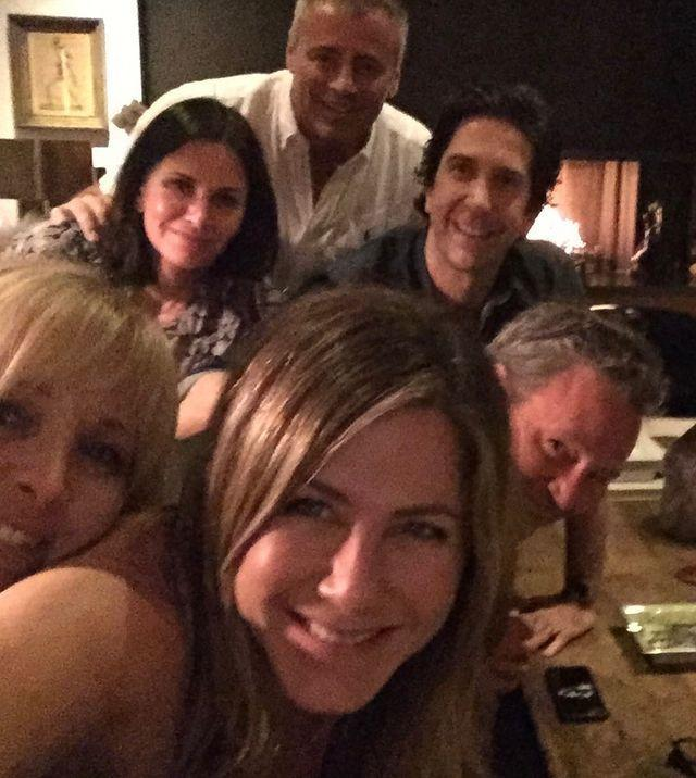 """<p>The one that went viral... <a href=""""https://www.elle.com/uk/life-and-culture/a29396540/jennifer-aniston-friends-reunited-howard-stern/"""" rel=""""nofollow noopener"""" target=""""_blank"""" data-ylk=""""slk:Aniston used this picture to finally join Instagram last month."""" class=""""link rapid-noclick-resp"""">Aniston used this picture to finally join Instagram last month.</a> Her arrival on the platform led to Aniston <a href=""""https://www.elle.com/uk/life-and-culture/culture/a29497119/jennifer-aniston-guinness-world-record-instagram-meghan-markle/"""" rel=""""nofollow noopener"""" target=""""_blank"""" data-ylk=""""slk:dethroning the Duke and Duchess of Sussex"""" class=""""link rapid-noclick-resp"""">dethroning the Duke and Duchess of Sussex </a>as the fastest account to amass one million followers, caused a temporary technical glitch for Instagram, a <a href=""""http://www.elle.com/uk/life-and-culture/a29482483/jennifer-aniston-instagram-justin-theroux-celebrities-reaction/"""" rel=""""nofollow noopener"""" target=""""_blank"""" data-ylk=""""slk:whole host of celebrities to fully lose it"""" class=""""link rapid-noclick-resp"""">whole host of celebrities to fully lose it</a> and has so far been liked almost 15 million times.</p><p><a href=""""https://www.instagram.com/p/B3o8vWDhlOh/"""" rel=""""nofollow noopener"""" target=""""_blank"""" data-ylk=""""slk:See the original post on Instagram"""" class=""""link rapid-noclick-resp"""">See the original post on Instagram</a></p>"""