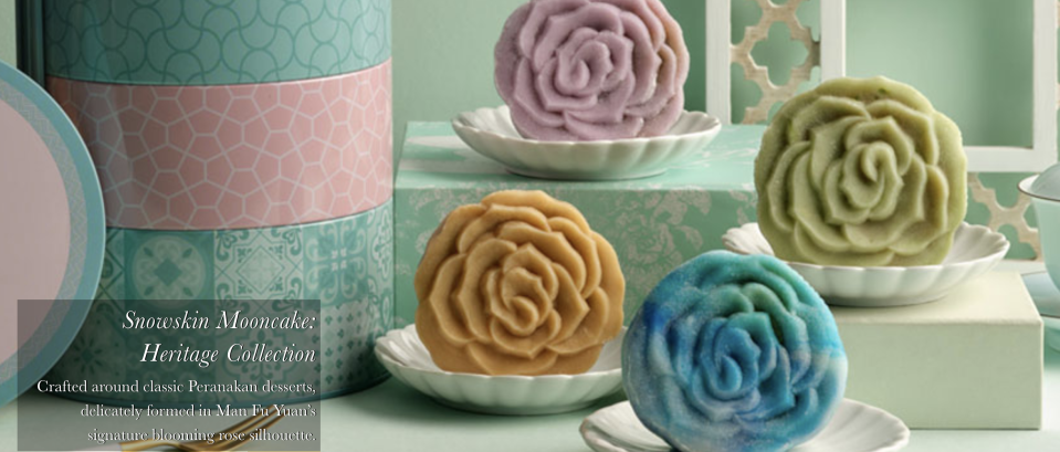 Mooncake with Complimentary Tea by InterContinental Singapore. PHOTO: Hotel InterContinental Singapore