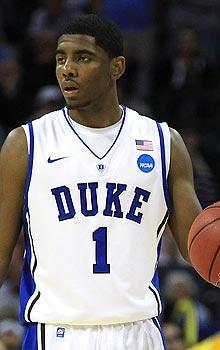 Kyrie Irving played in only 11 games as a freshman at Duke because of a toe injury
