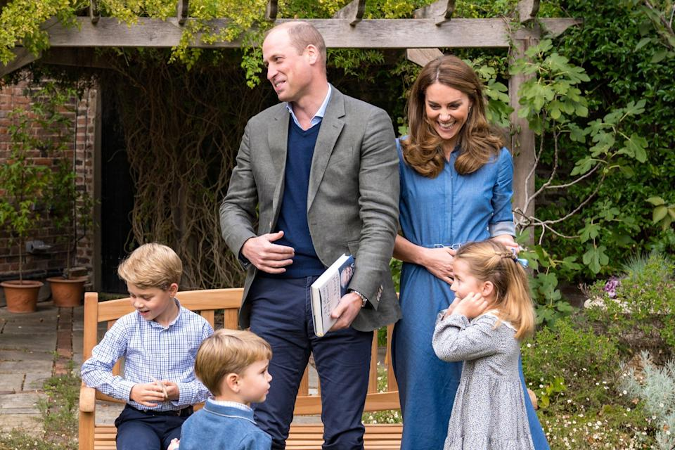 Kate, William and family (Kensington Palace via Getty Images)