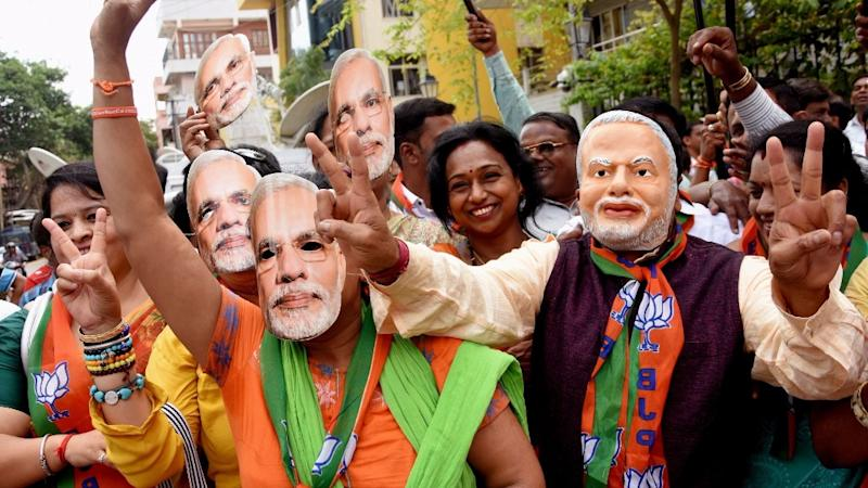 Modi Win Spurs Jump in Indian Stock Futures, Rupee Forwards