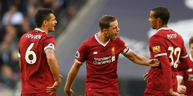 The Reds became the sixth team to join that club after Harry Kane fired Spurs into the lead just a matter of minutes into Sunday's encounter