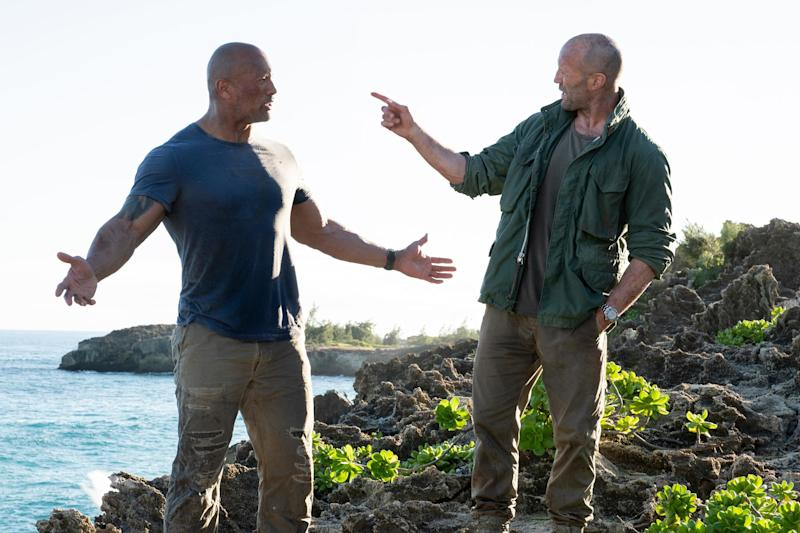 Hobbs & Shaw races to a $60.8 million finish line to win the weekend box office