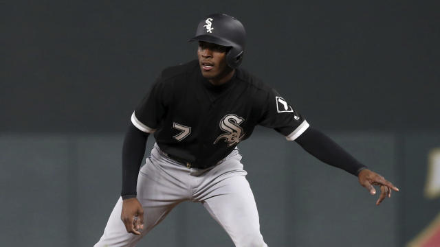Chicago White Sox' Tim Anderson has been perfect in stolen base attempts this year, but running on Justin Verlander caused a problem for the Astros' ace. (AP Photo)