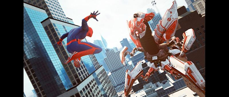Review: 'Spider-Man' game loses to 'Lego Batman'