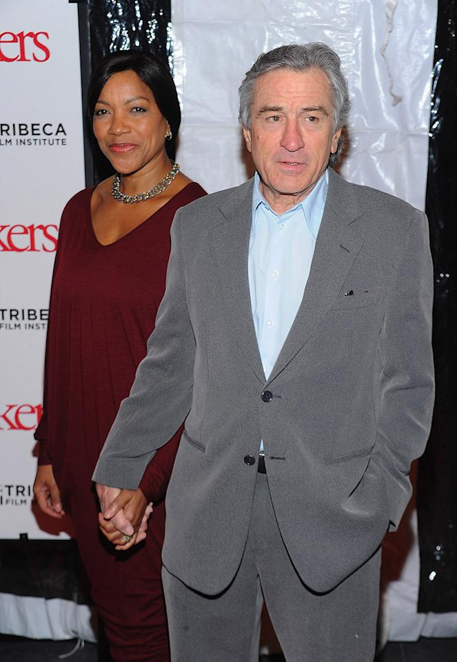 "<a href=""http://movies.yahoo.com/movie/contributor/1800010759"">Robert De Niro</a> and wife at the New York City premiere of <a href=""http://movies.yahoo.com/movie/1810110296/info"">Little Fockers</a> on December 15, 2010."