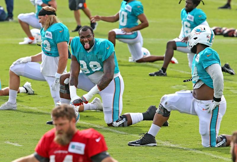 Here's the Miami Dolphins' new plan at defensive tackle and this week's strange process