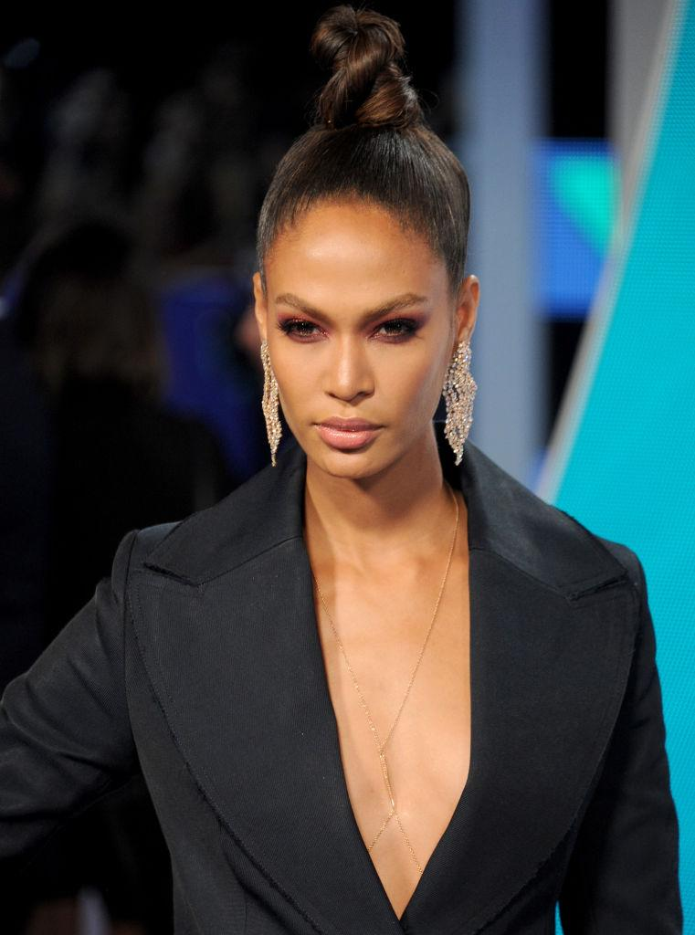 Joan Smalls Celebrity Hairstyles