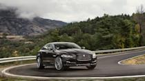 """<p><strong>Jaguar XJ</strong></p> <p>Here's another sedan we're sad to see go. However, it's not entirely buried yet. Jaguar told us <a href=""""https://www.autoblog.com/2019/05/30/jaguar-xj-production-end-electric-replacement/"""" data-ylk=""""slk:the XJ name will continue"""" class=""""link rapid-noclick-resp"""">the XJ name will continue</a>, and the automaker said it would """"be replaced by a like-size"""" car. It also looks like the new XJ will be an <a href=""""https://www.autoblog.com/2019/06/24/all-electric-jaguar-xj/"""" data-ylk=""""slk:electric flagship sedan"""" class=""""link rapid-noclick-resp"""">electric flagship sedan</a>. We're completely behind doing exactly that, especially after experiencing how fun the <a href=""""https://www.autoblog.com/2019/03/11/2019-jaguar-i-pace-driving-review/"""" data-ylk=""""slk:Jaguar I-Pace"""" class=""""link rapid-noclick-resp"""">Jaguar I-Pace</a> is from behind the wheel. Unfortunately, we have no idea when such a replacement vehicle will hit the road. Jaguar has already proved itself capable of producing an EV (even before others), so it's most likely just a matter of time.</p>"""