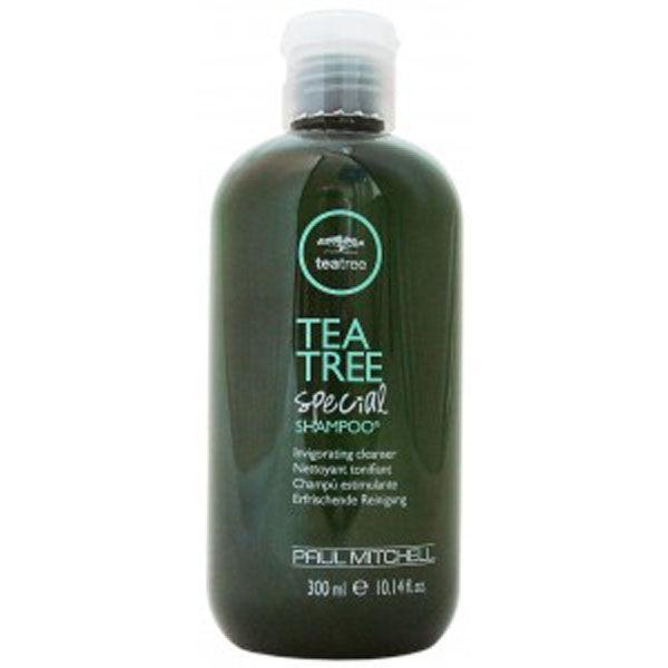 """<p>Harnessing the power of natural tea tree, this special shampoo cleanses the hair of impurities and invigorates the scalp. The peppermint extracts will leave your hair with a refreshing tingle, for the ultimate clean scalp feeling. <a rel=""""nofollow noopener"""" href=""""http://tidd.ly/ab458247"""" target=""""_blank"""" data-ylk=""""slk:Buy here"""" class=""""link rapid-noclick-resp"""">Buy here</a> </p>"""