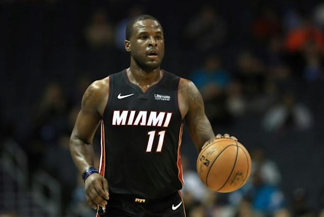 Miami Heat guard Dion Waiters was suspended by the NBA club on Sunday for 10 games for conduct detrimental to the team (AFP Photo/STREETER LECKA)