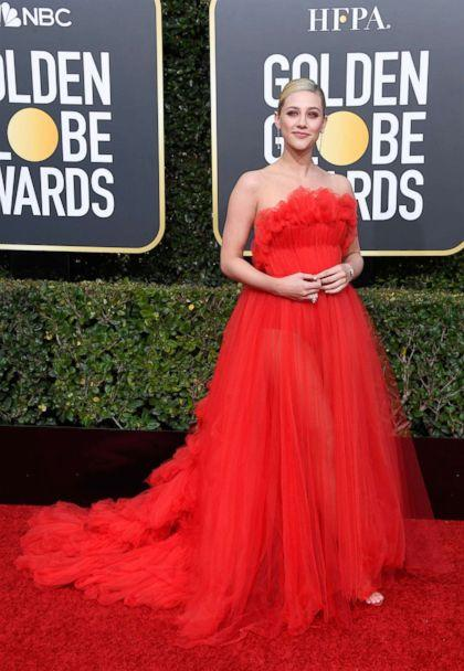 PHOTO: Lili Reinhart attends the 76th annual Golden Globe awards at the Beverly Hilton Hotel, Jan. 6, 2019 in Beverly Hills, Calif. (Frazer Harrison/Getty Images)