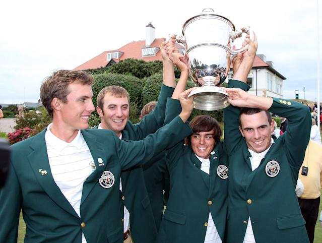 Within four years of this foursome helping the U.S. win at Royal County Down, all four had earned PGA Tour cards.