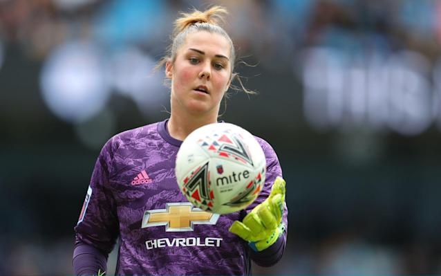 Mary Earps is one of two high-profile recruits to join Man Utd from the German Bundesliga over the summer - Getty Images Europe