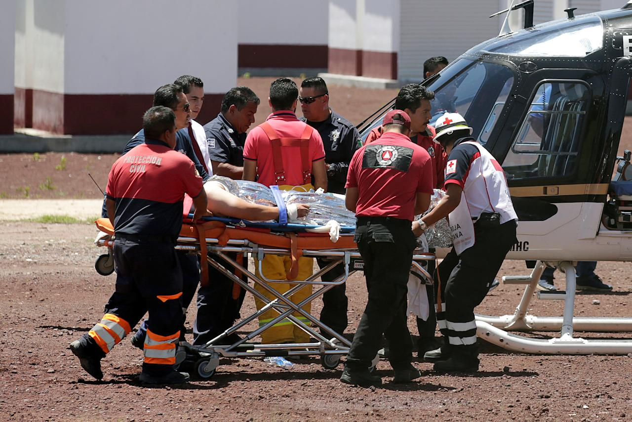 Killed In Mexico City In Fireworks Workshop Blasts