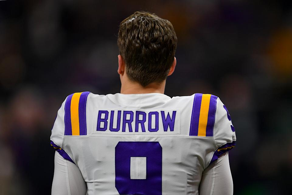 Could Joe Burrow try to prevent being picked by the Cincinnati Bengals? (Photo by Alika Jenner/Getty Images)