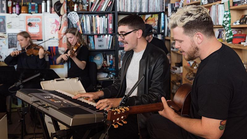 Watch Alt-J's Tiny Desk Concert, Accompanied by a String Section