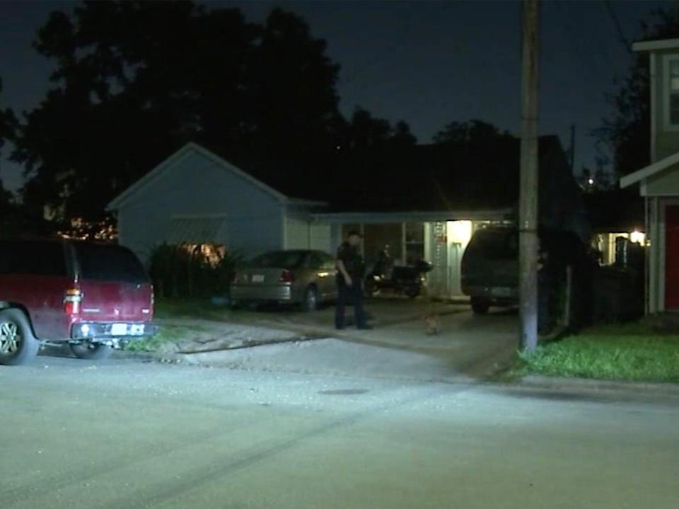 A boy was accidentally shot by his father in eastern Houston on Friday night.  (ABC)