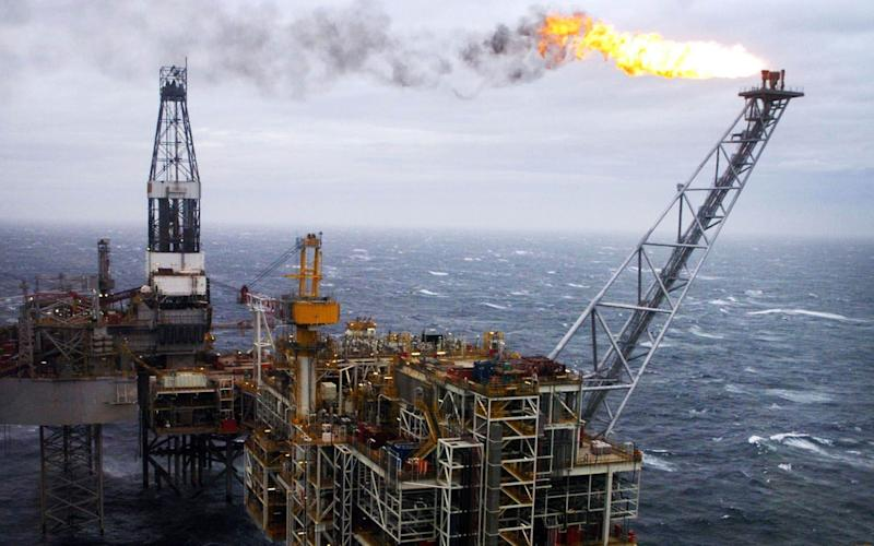 An Edinburgh University study has predicted the UK's oil production will end within a decade - PA