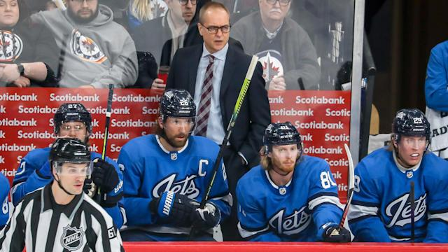 Paul Maurice will remain with the Winnipeg Jets for the foreseeable future. (Jonathan Kozub/NHLI via Getty Images)