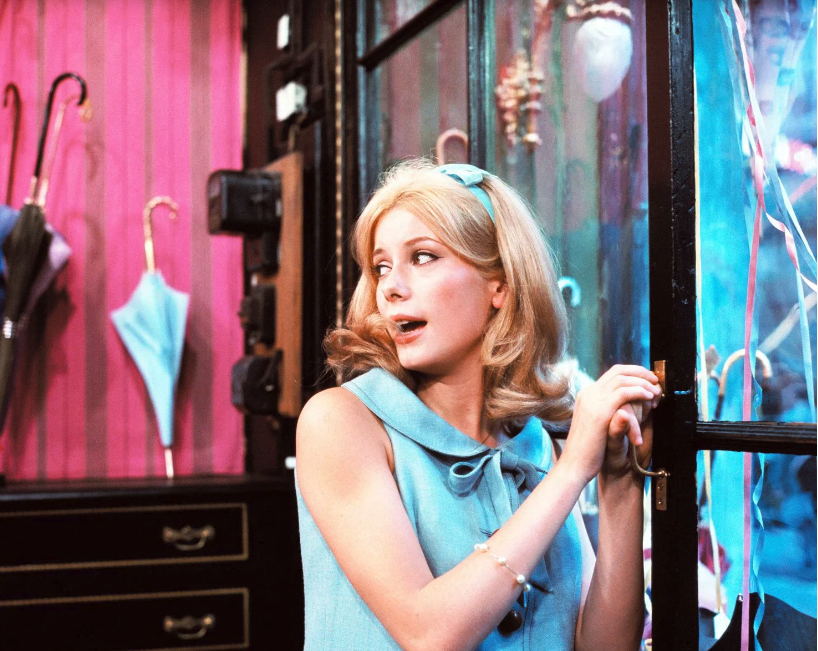 """<p>There would be no Catherine Deneuve without <em>The Umbrellas of Cherbourg</em>. This colorful French movie-musical puts her front and center in a story about a couple torn apart when one is sent to war in Algeria. It's a heavy premise, but feels lighter n the hands of director Jacques Demy and composer Michel Legrand.</p><p><a class=""""link rapid-noclick-resp"""" href=""""https://www.amazon.com/Umbrellas-Cherbourg-English-Subtitled/dp/B00M0HU5SS?tag=syn-yahoo-20&ascsubtag=%5Bartid%7C10055.g.30416771%5Bsrc%7Cyahoo-us"""" rel=""""nofollow noopener"""" target=""""_blank"""" data-ylk=""""slk:WATCH ON AMAZON"""">WATCH ON AMAZON</a> <a class=""""link rapid-noclick-resp"""" href=""""https://go.redirectingat.com?id=74968X1596630&url=https%3A%2F%2Fitunes.apple.com%2Fus%2Fmovie%2Fthe-umbrellas-of-cherbourg%2Fid885840942&sref=https%3A%2F%2Fwww.goodhousekeeping.com%2Flife%2Fentertainment%2Fg30416771%2Fbest-romantic-movies%2F"""" rel=""""nofollow noopener"""" target=""""_blank"""" data-ylk=""""slk:WATCH ON ITUNES"""">WATCH ON ITUNES</a></p>"""