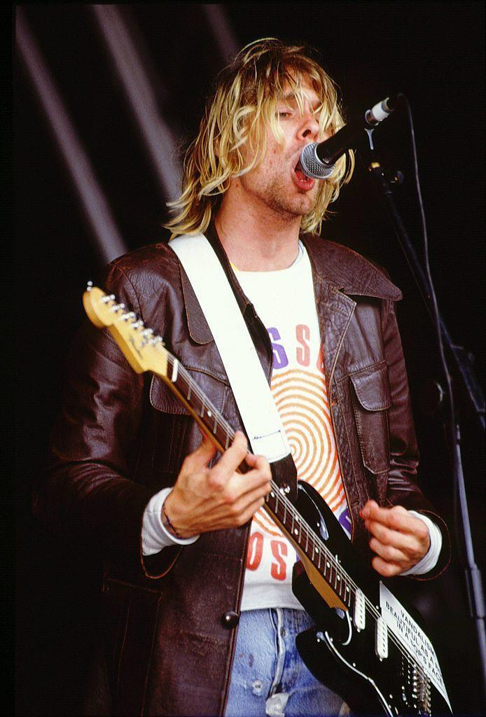 <p>Nirvana was one of the main headliners of the U.K.'s Reading Festival in 1992, along with Public Enemy and The Wonderstuff.</p>