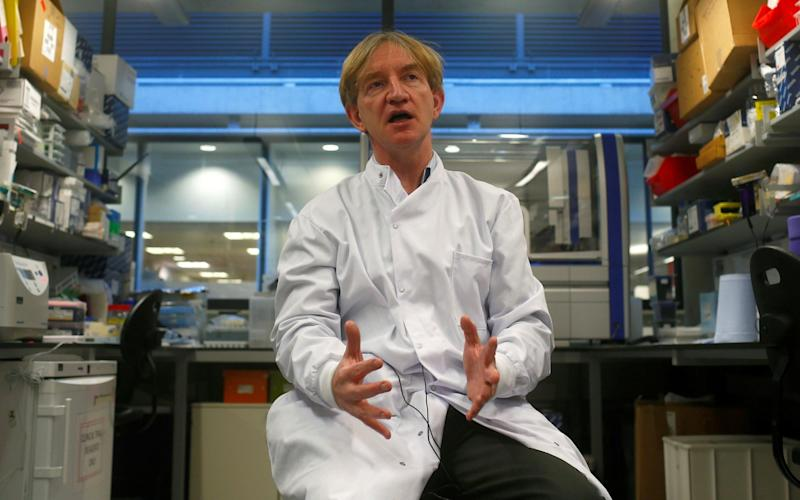 Professor Adrian Hill - Oxford University Covid-19 vaccine trial has only 50 per cent chance of success because virus is disappearing so fast - REUTERS