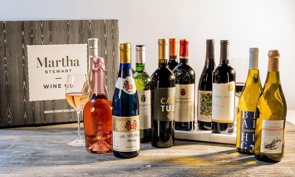 """You won't whine with this wine club. <a href=""""https://fave.co/2AKCHXk"""" target=""""_blank"""" rel=""""noopener noreferrer"""">Martha Stewart Wine Co.</a>has its own wine club. You can get six or 12 bottles every six or eight weeks. The bottles can be all red or all white wines, or a mix of the two.<br /><br />Check out <a href=""""https://fave.co/2AKCHXk"""" target=""""_blank"""" rel=""""noopener noreferrer"""">Martha Stewart's Wine Club</a>."""